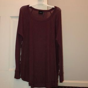 Urban Outfitters Long Sleeve Tunic Sweater